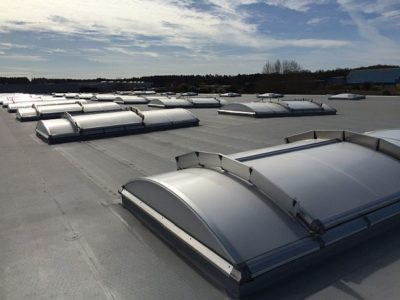Additional protection on the roof of our Modular Buildings