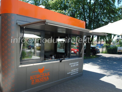 Experienced producer of gastronomic pavilions – the company EFEKT