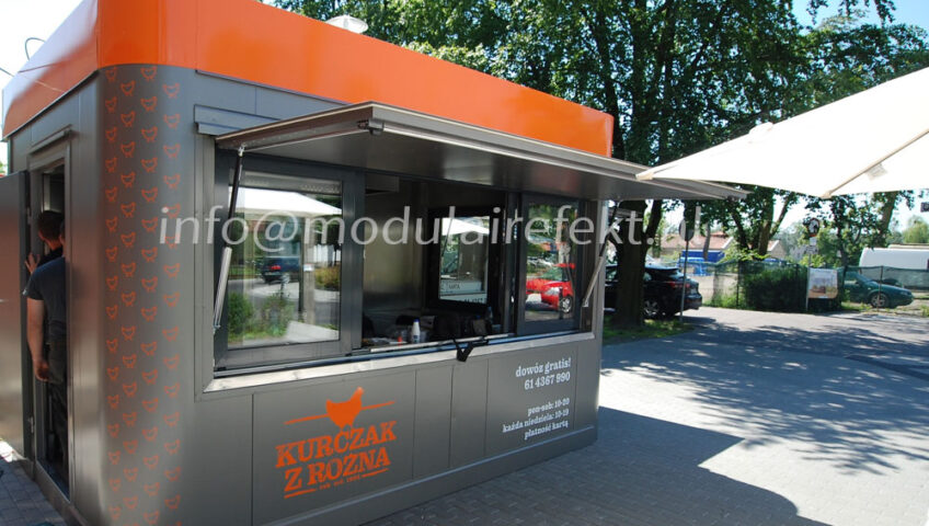 Experienced producer of gastronomic pavilions - the company EFEKT