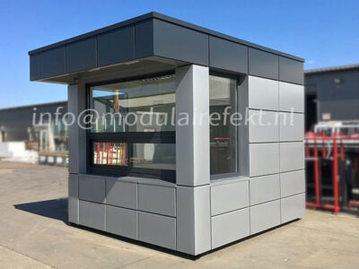 Security container – comfortable mini pavilions