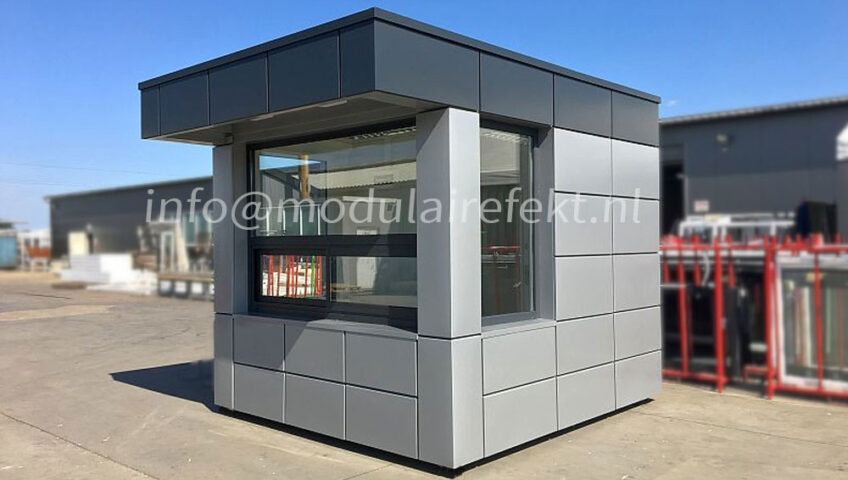 Security container - comfortable mini pavilions - Modulairefekt