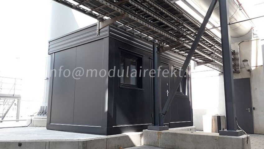 Application of security cabin - Modulairefekt
