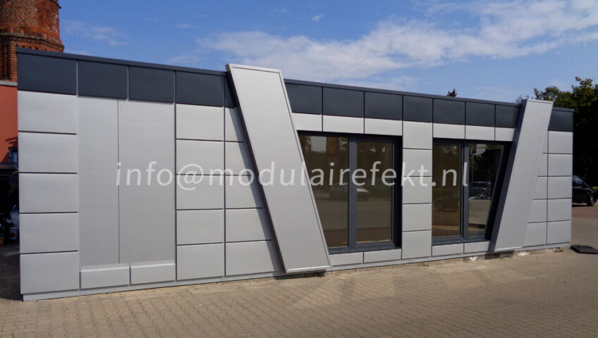 Irreplaceable objects made of sandwich panels - Modulairefekt